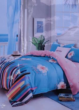 Комплект постельного белья 200х230 фланель