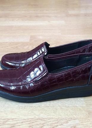 Кожаные туфли medicus германия 39 размера в идеальном состоянии