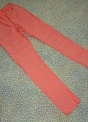Узкие джинсы 10-11 лет