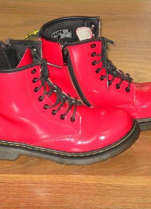 Крутые кожаные ботинки dr. martens