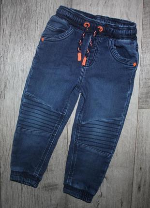 Джинсы джогерры стильные удобные george 2-3 года, рост 92-98 см.