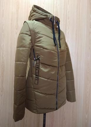Куртка - жилет трансформер (44-54)