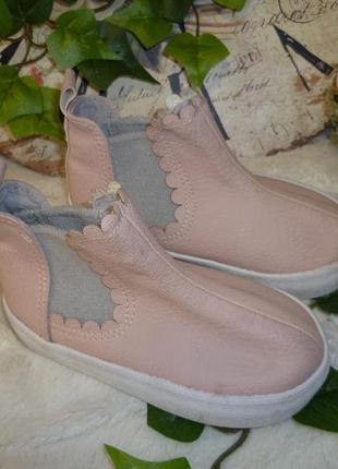 Сапоги h&m (р.20-21 устілка 13см) ботінки туфлі