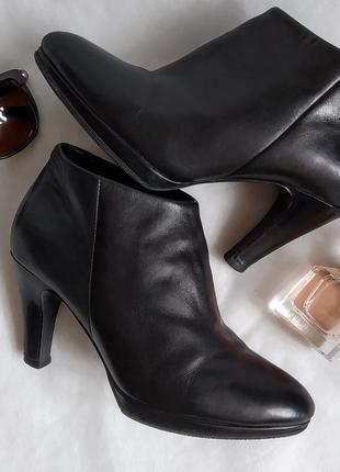 Ботинки ecco ботильоны туфли кожа1 фото