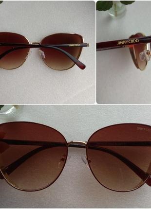 New 2019! новые красивые очки бабочки с боковой защитой, коричневые
