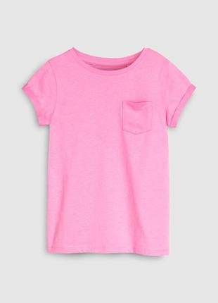 Красивая яркая футболочка некст для девочки
