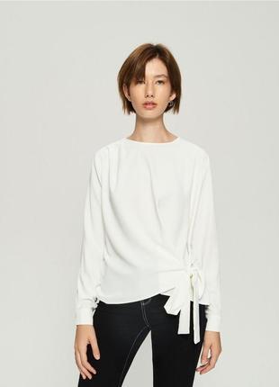 8f8bbba5d9f Белые блузки SinSay 2019 - купить недорого вещи в интернет-магазине ...