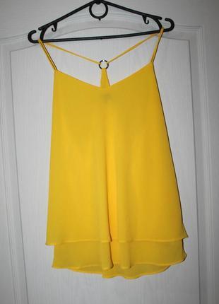 Летняя блузка-майка в бельевом стиле