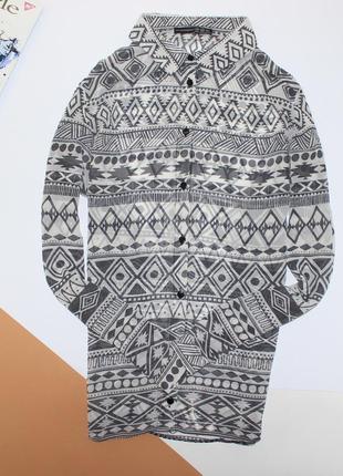 Легкая блуза в принт