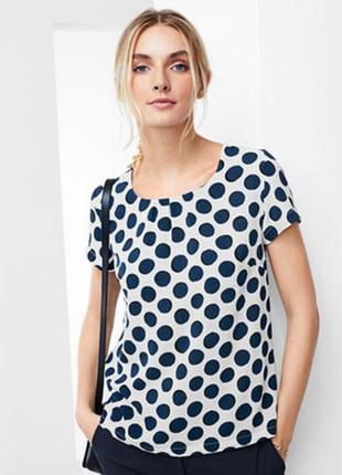 Воздушная женская блуза 36р евро tcm tchibo. германия. оригинал!