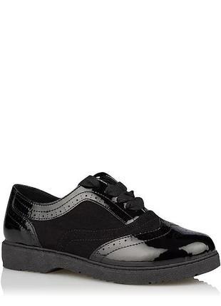 Черные туфли для девочки джордж