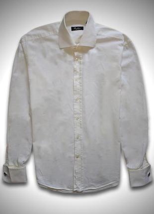 Рубашка с запонками corneliani