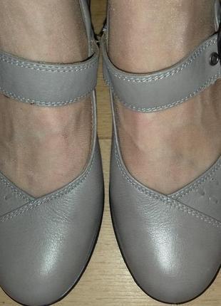 Туфли кожаные англия hotter 24 см