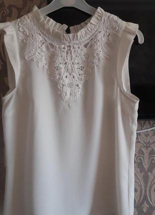 Красивая блуза oasis р.10