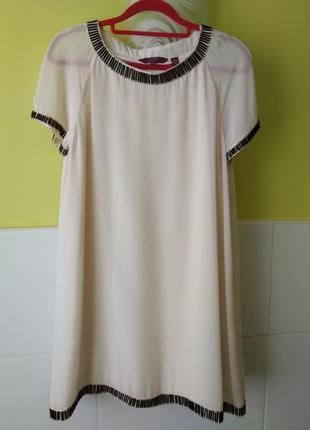 Платье ted baker обшито крупным бисером стеклярусом
