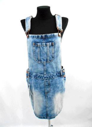 Джинсовый сарафан vero moda