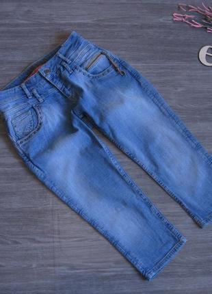 Джинсовые шорты/ бриджи denim размер 27