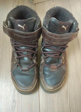 Ботинки зимние мужские puma 42 размер
