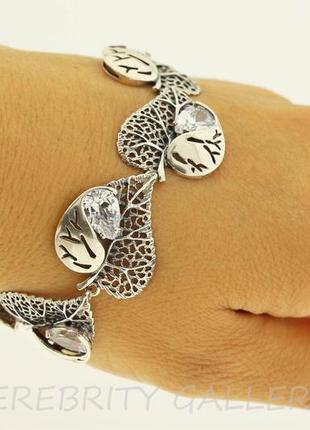 10% скидка - подписчикам! красивый браслет серебряный размер 18,5. i 500003 w 18,5