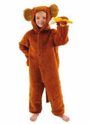 Карнавальный костюм обезьянка обезьяна мавпа 9-10 лет