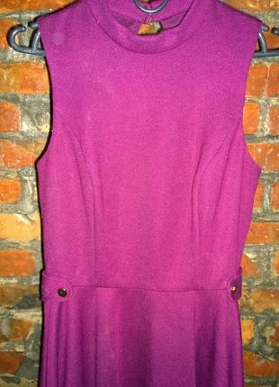 Платье из костюмного трикотажа с вырезом на спинке jane norman4 фото