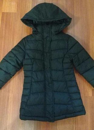 Удлинённая куртка, пальто демисезон