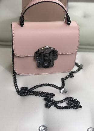 Маленькая кожаная сумочка
