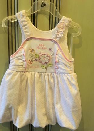 Сарафан caramell на девочку 12-18 месяцев