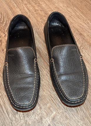 Стильные мокасины  geox ® размер : 40 по стельке 25,5-26 см.