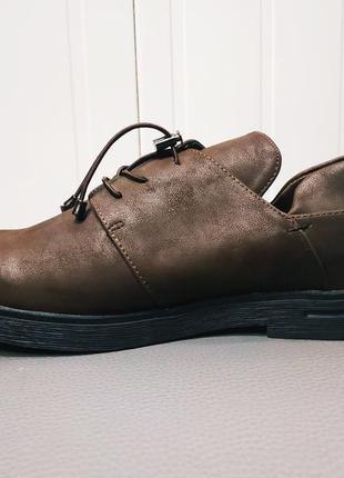 Туфли под нубук