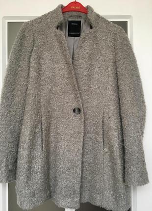 🎉супер цена!!! трендовое пальто букле over size бойфренд