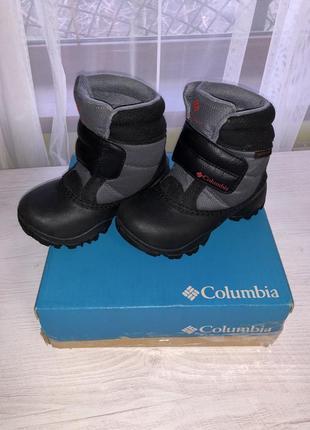 Зимние ботинки columbia rope tow kruser р.27 по стельке 17 см.