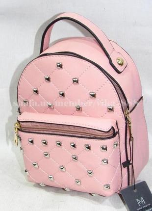 Маленький рюкзак-клатч 561 розовый