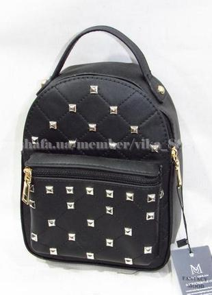 Маленький рюкзак-клатч 561 черный
