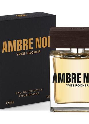 """Туалетная вода """"ambre noir"""" yves rocher 50 мл"""