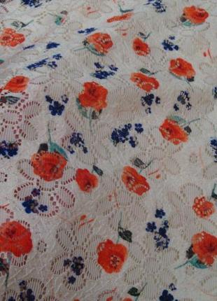 Красивое платье с цветами young dimension 4-5 лет2