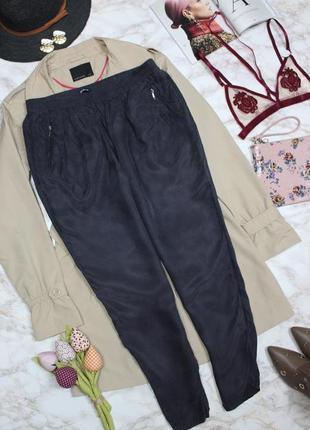 Обнова! брюки штаны джоггеры сизо серые зауженные укороченные