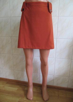 Очень классная теплая юбка