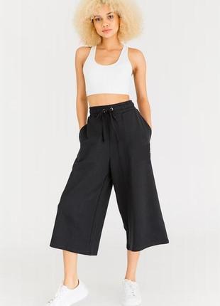 Обнова! кюлоты брюки штаны укороченные широкие