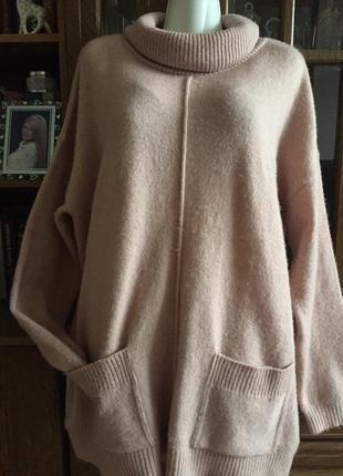 Отличный свитер батал раз 4xl(56-58)