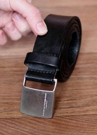 Ремень шкіряний tom tailor. оригінал стан відмінний! w33-37.5