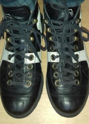 Ботинки кожаные деми puma 24 см