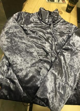 Бархатна куртка