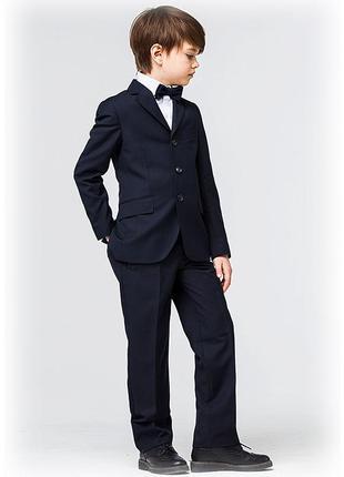 Черный школьный костюм двойка на мальчика 122 см