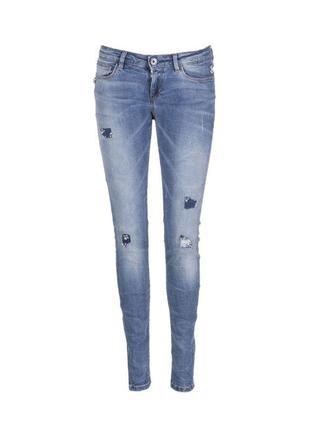 Джинсы guess skinny jeans с камнями, оригинал, р. 26 в наличии