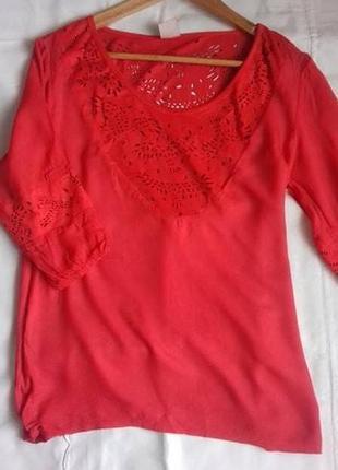 Блуза футболка s замша