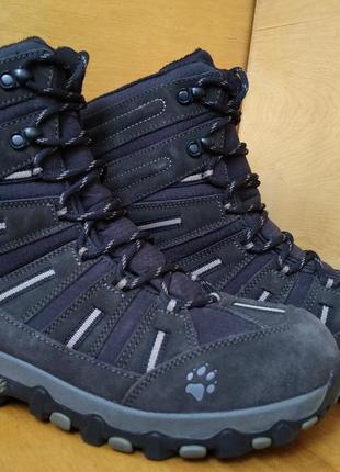 Термо ботинки jack wolfskin р-р. 43-й (28.5 см)
