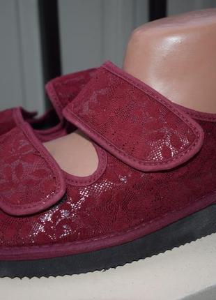 Тапочки тапки шлепанцы босоножки сандали natur laufer