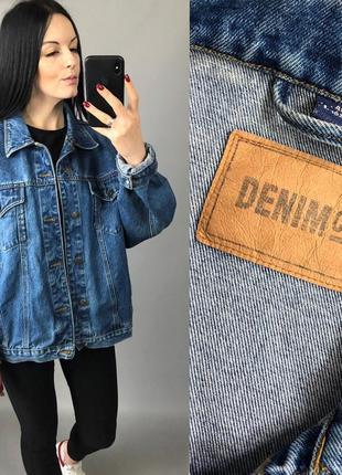 Джинсовка винтаж оверсайз denim co джинсовая куртка пиджак