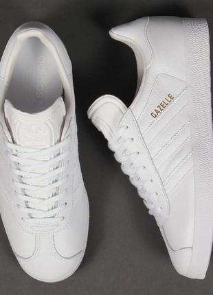 Кроссовки adidas gazelle leather trainers